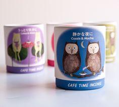 Cafe Time Incense.