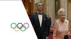 """Just in case you've never seen it... Daniel Craig and Her Majesty The Queen in """"Happy And Glorious"""" (2012)"""