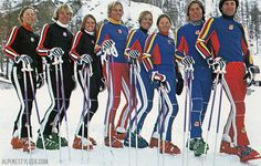 1970 ski wear - Google Search