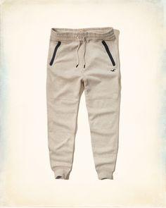 Guys Hollister Icon Fleece Jogger Pants | Guys Jeans & Bottoms |  HollisterCo.com