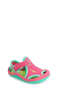 Nike 'Sunray Protect' Sandal (Baby, Walker & Toddler) available at #Nordstrom