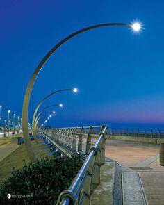 Blackpool boardwalk lighting scheme