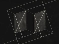 Josef Albers, Transformation of a Scheme No. 9, 1950
