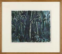 FRANS MASEREEL. Verwunschener Wald.