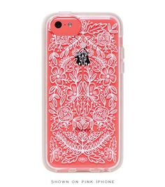 Pin for Later: Over 50 Colorful New iPhone Cases For Spring! Lace iPhone 5/5c Case The intricate Lace iPhone 5c case ($36) from Rifle Paper Co. complements the phone's color perfectly. There's also a 5/5s version.
