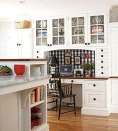 Kitchen Desk Wood Flooring In 60 Best Desks Images Diy Ideas For Home Built Storage Around This Provides Space
