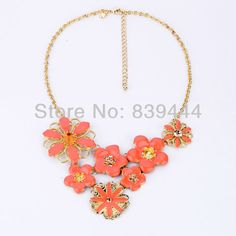 US $6.00     Buy Jewelry At Wholesale Prices!     FREE Shipping Worldwide     Get it here ---> http://jewelry-steals.com/products/engagement-jewelry-sweat-crystal-flower-necklace/    #fashion