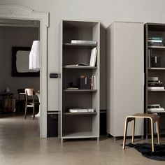 Everywhere shelves, by Christian Werner