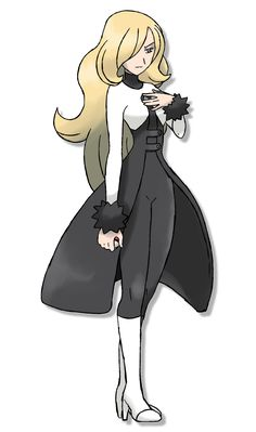 New Cynthia Outfit by Lucas-Costa Pokemon Pokedex, Pokemon Team, Pokemon Waifu, Pokemon Fan Art, Pokemon Trainer Outfits, Pokemon Cynthia, Pokemon Champions, Character Creator, Pokemon People