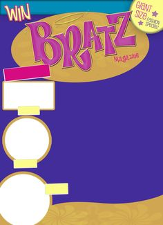 Bratz Magazine Template made by me. Credit monodalso on Twitter if used. Fonts required: Pupcat Editing Pictures, Photo Editing, Overlays Cute, Photo Collage Template, Photo Wall Collage, Overlays Picsart, Aesthetic Template, Editing Background, Insta Photo Ideas