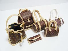 Miniature Louis Vuitton Handbags