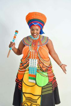 Graduate Xhosa Attire, African Attire, African Wear, African Women, African Fashion, African Beauty, African Traditional Wedding, African Traditional Dresses, Traditional Outfits