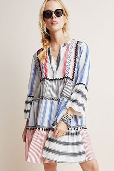 Friday Favorites: My favorite summer tunic dresses Stylish Summer Outfits, Boho Outfits, Summer Tunics, Summer Dresses, Smock Dress, Tunic Dresses, T 4, Hijab Fashion, Women Wear