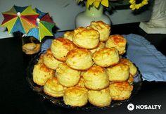 Nagyi sajtos pogácsája | NOSALTY Biscuits, Cake, Ethnic Recipes, Food, Breads, Crack Crackers, Bread Rolls, Cookies, Kuchen