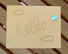 Hallo----  Deze schattige hello kaart is geweldig voor elke gelegenheid, met een…