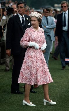 Queen Elizabeth II: 1984: Queen Elizabeth II at Guards polo club, Windsor