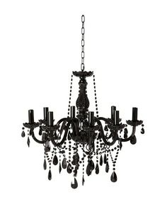 New jet black gothic crystal chandelier lighting h42 x w26 gothic new jet black gothic crystal chandelier lighting h42 x w26 gothic chandelier gothic and chandeliers aloadofball Images