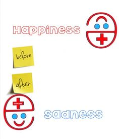 """""""e"""" before happiness, after sadness +:)"""