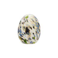 Iittala Birds by Toikka - Alder Thrush Egg Marble Art, Decorative Objects, All Modern, Finland, Luxury Homes, Home Accessories, Bean Bag Chair, Glass Art, Christmas Bulbs