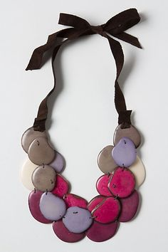 Sea Shingle Necklace #anthropologie