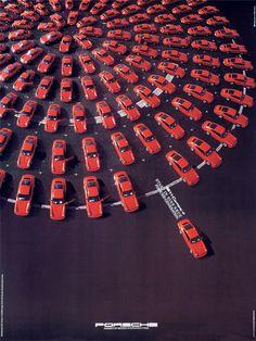 be original.. —Porsche 911 poster from 1989