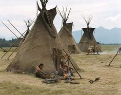 native american indian tipi | american indian teepee since many native american indians were nomads ...