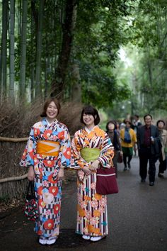 Kimono x Arashiyama Bamboo Grove, Kyoto Yukata, Kyoto, Japan, Lady, Bamboo, Japanese