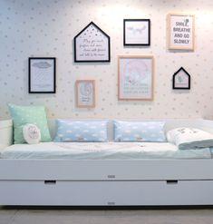 Estilo nórdico - decoración infantil - bloomingville mini - habitación infantil - papel pintado - cuadros y láminas para niños