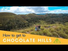 Climbing the Chocolate Hills in Carmen [Bohol, Philippines] - YouTube Chocolate Hills, Bohol Philippines, Climbing, Country Roads, Island, Mountains, How To Plan, Youtube, Travel