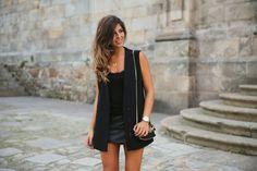 Trendy Taste     Black Vest