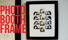 Photo booth frame
