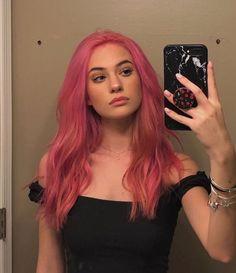 Hair Color Pink, Hair Dye Colors, Pink Hair Dye, Pastel Hair Colors, Emo Hair Color, Dyed Hair Pastel, Green Hair, Blue Hair, Lilac Hair