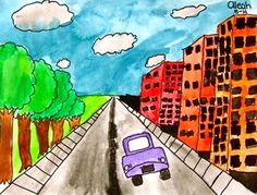 Check out student artwork posted to Artsonia from the One Point Perspective -5 project gallery at Whitney Elementary School.