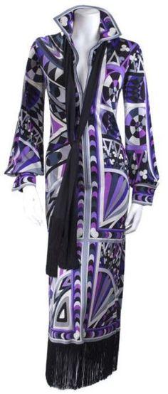 Ideas vintage roupas estampas for 2019 Bd Fashion, 1960s Fashion, Vintage Fashion, Fashion Outfits, Fashion Design, Vintage Dresses 1960s, Vintage Outfits, Mode Vintage, Emilio Pucci