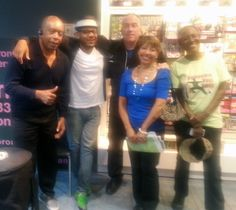 With Etienne Charles, Muhtadi Thomas at HMV 333 Yonge St. In Store