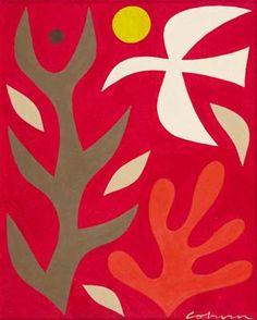 JOHN COBURN - White Bird and Sun