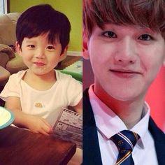 Baby baekhyun is so cute. K Pop, Baekyeol, Chanbaek, Exo 12, Kim Minseok, Korean Boy, Baekhyun Chanyeol, Exo Memes, Kpop Exo