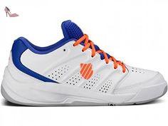 K-Swiss Tubes, Chaussures tennis femme - Blanc-TR-I5-10, 38 EU (5 UK)