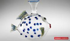 Decanter pesce pappagallo #madeinitaly #lunardon #winelover