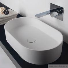 Super-Thin Ellipse Vessel Basin - Basins - Bathroom