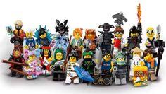 NEW The Ninjago Movie Lego 71019 COMPLETE SET OF 20 Mini-figures