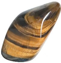 Tiger's Eye: This stone is most recognized for bringing money, psychic protection, courage, luck confidence, willpower, clear thinking and speaking to show us the personal power in life that we have.