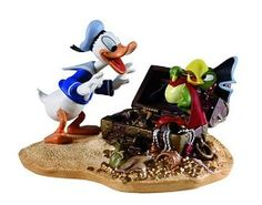 WDCC Disney Classics Donald Duck Finds Pirate Gold - Limited Edition 2008