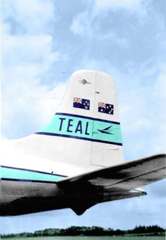 TEAL, DC-6 Tail