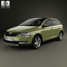Buy Skoda Rapid Spaceback Scoutline 2015 by on The model was created on real car base. It's created accurately, in real units of measurement, qualitatively and m. Car 3d Model, 3d Models, 3d Design, Hot Wheels, Volkswagen, Classic Cars, The Unit, Vehicles, Compact