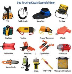 Sea Kayaking Safety Gear