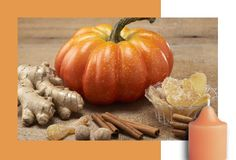 Ginger Pumpkin - the right touch of ginger, nutmeg and cinnamon creates the inviting aroma of a freshly-baked pumpkin delight. #PartyLite #candles