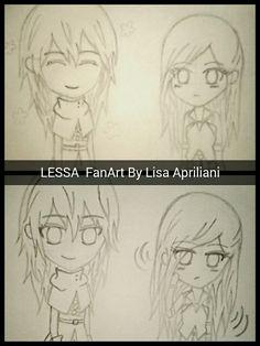 Lessa and lucy  On webtoon  #webtoon