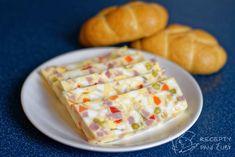 Hlavní fotka k receptu Tradiční vaječná tlačenka Dairy, Menu, Bread, Cheese, Cooking, Recipes, Diet, Recipies, Bakken