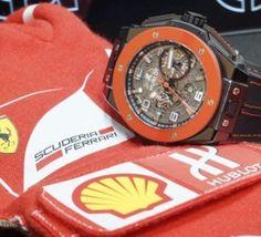 Trente Hublot Big Bang Ferrari Hong Kong : céramique rouge pour un double anniversaire !